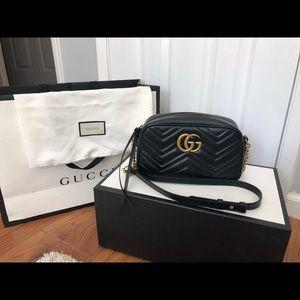 Gucci GG Marmont Matelasse Camera Bag - small